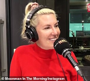Pictured: On Moonman In The Morning on Triple M Now