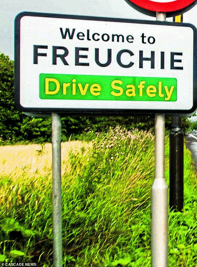 The incident happened in the Fife village of Freuchie on June 20, 2020