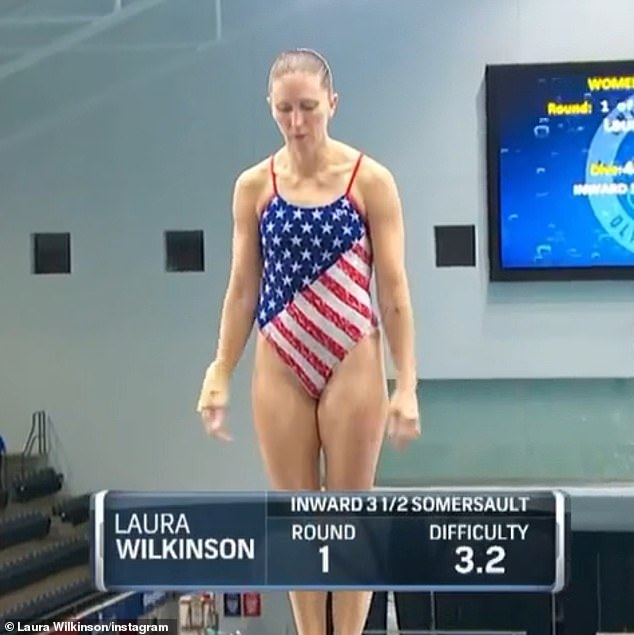 Big moment: Earlier this week, the platform diver qualified for the finals at the U.S. Olympic trials on Sunday