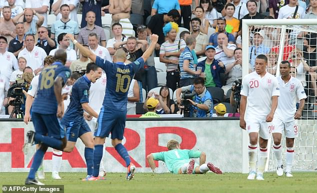 England have failed to beat France twice on day one at the Euros - the latest coming in 2012