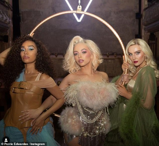 Pushed back:Little Mix's long-awaited collaboration with Anne-Marie has been suspended after a crew member reportedly tested positive for coronavirus