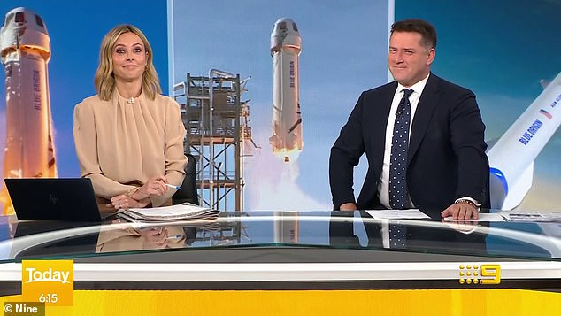 Someone's excited! Last week, Kyle told Stellar about his party plans, revealing he was throwing a lavish yacht party on Sydney Harbour with guests including Karl Stefanovic (right) attending