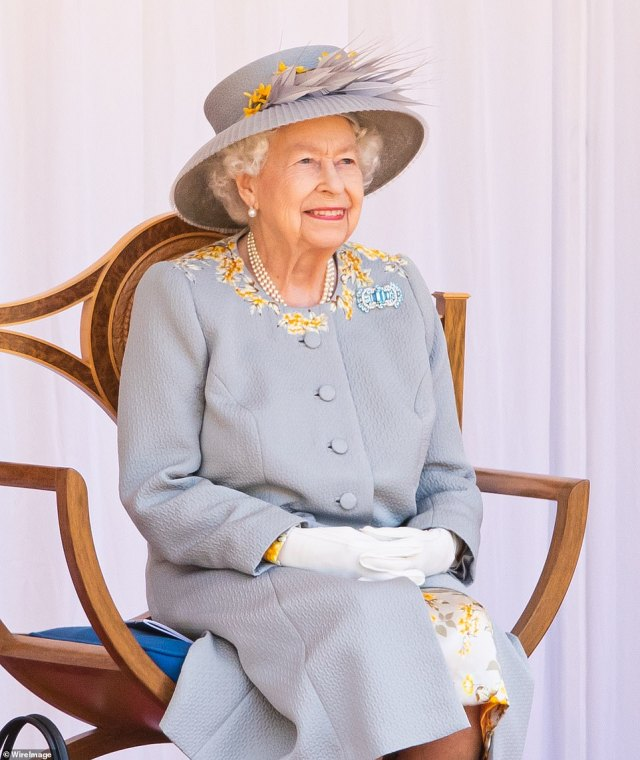 The senior military officer who planned the celebrations said his aim was to create a 'memorable and uplifting day' for the monarch