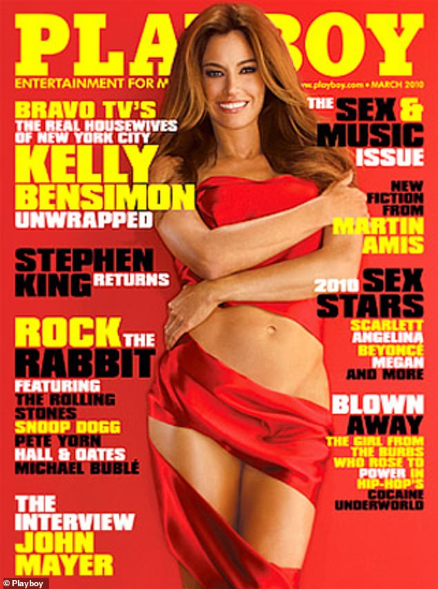 Showing some skin: In 2010, she appeared on the cover of Playboy and posed nude in a six-page spread