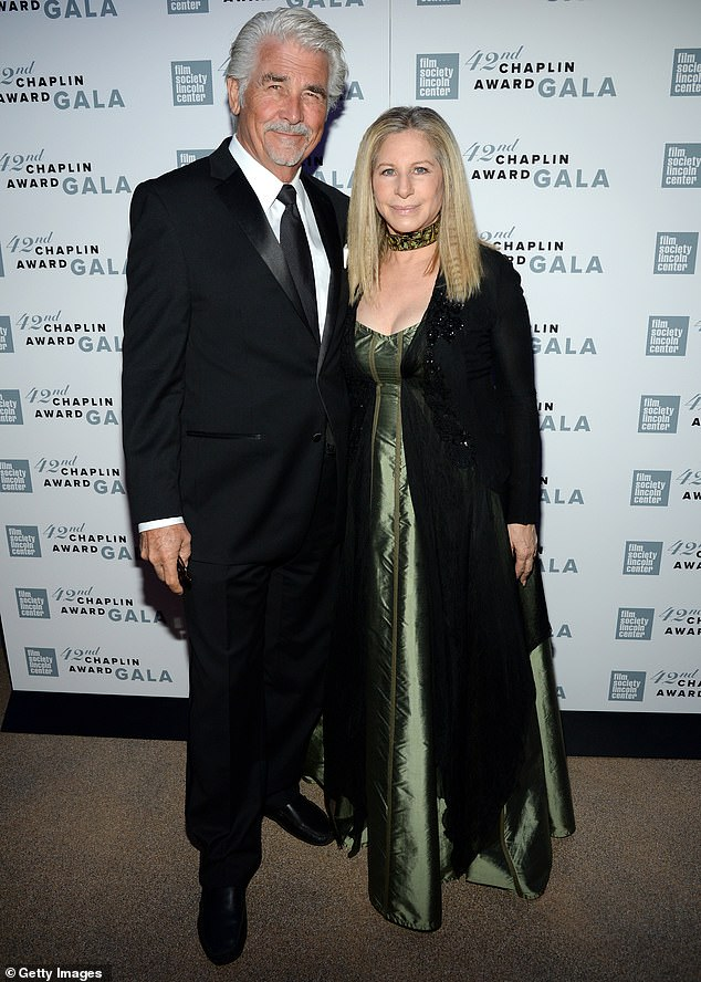 Happy husband: During the interview, the Westworld actor expressed that his wife 'gets me up and doing things I wouldn't normally accomplish'; they are pictured in 2015