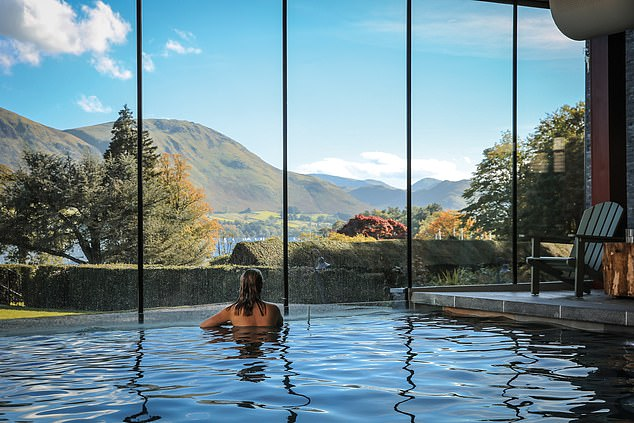Glide through the cool, open waters of Ullswater on a wild swim, just one of several bracing activities laid on at the Lake District¿s Another Place hotel