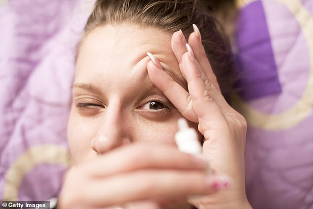 Dry, itchy and red eyes are very common. When the symptoms happen all the time, doctors may refer to it as dry eye syndrome, writes DR ELLIE CANNON