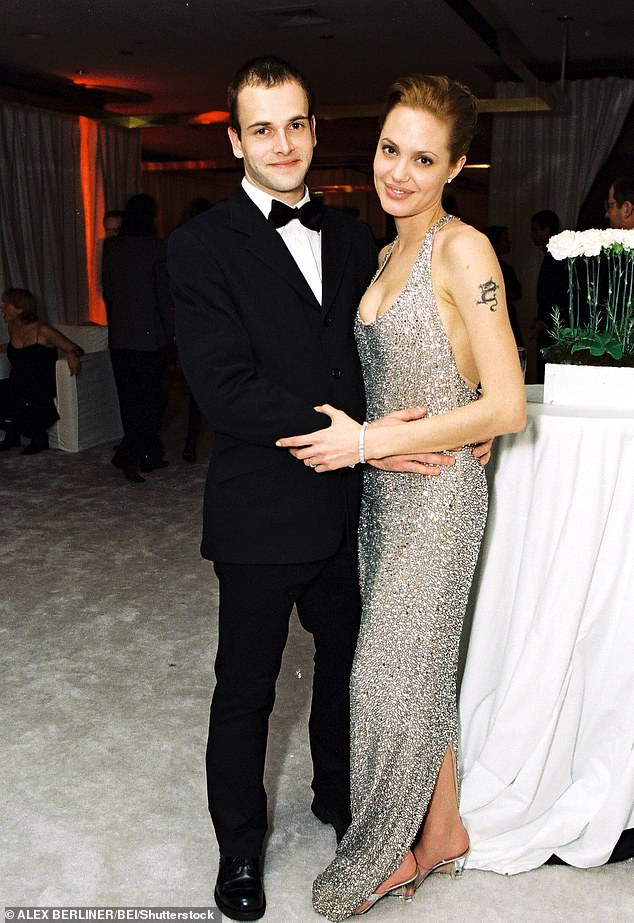After a whirlwind romance, Miller and Jolie, 22 and 20 respectively at the time, decided to tie the knot.  They are seen here in 1999