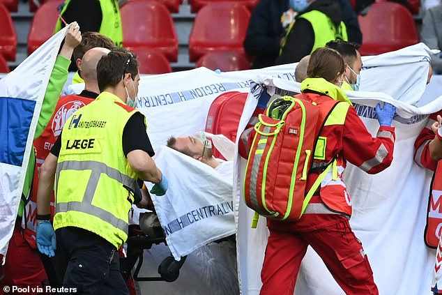 Eriksen will need multiple heart tests in the coming weeks to determine how this happened