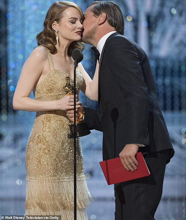 Hold together: During her new interview, she shared that she was able to keep tears when Leonardo DiCaprio presented her with the Oscar for Best Actress
