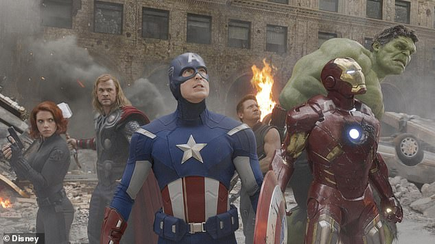 They're all part of the Avengers: the photo was obviously meant to fuel the fire in terms of a debate over which Chris in the Marvel Cinematic Universe is better
