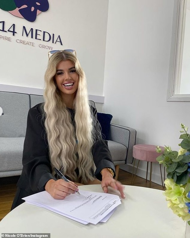 Wow:In May, Nicole announced that she had signed a new record deal with I Saw It First and Sengge Zangbo Records on Instagram