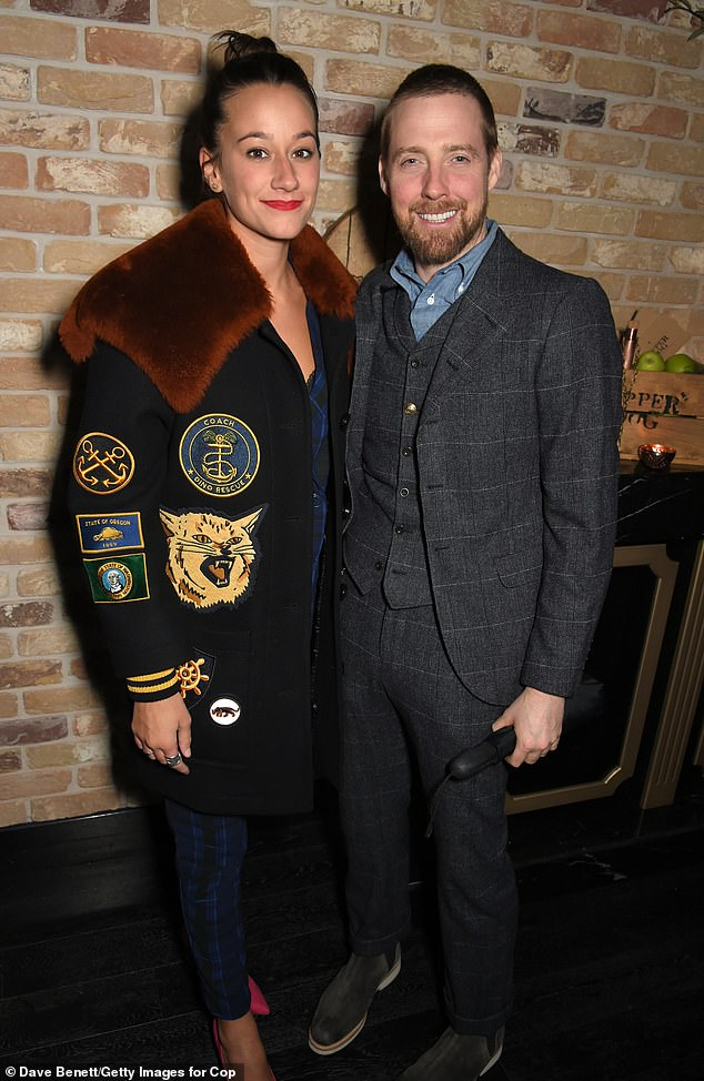 Mr and Mrs:The Kaiser Chiefs star reportedly tied the knot with his partner at Greenhead Park in Huddersfield on Saturday (pictured in 2018)