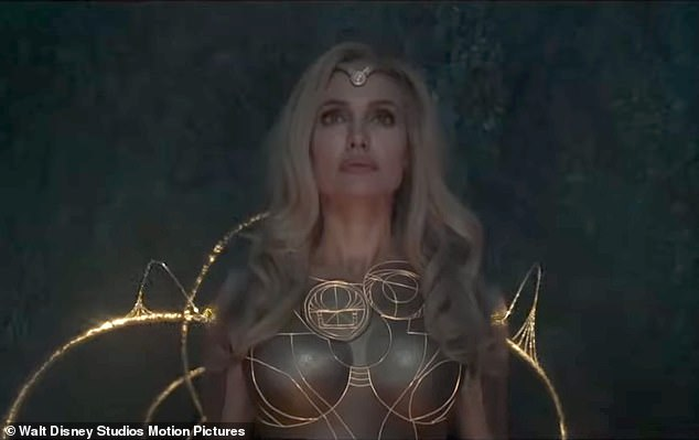 Released in theaters in the US and UK on November 5th!  Jolie will go on to play the fierce warrior Thena, who can form any weapon from cosmic energy, in the Marvel Comics Eternals movie.