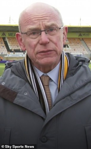 Ian Mather, Cambridge United chief executive, is pushing for an independent regulator for football