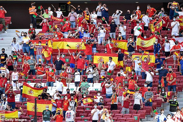 There is a clear sense that the Spanish public are backing Enrique - at least for the time being