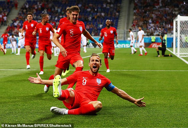 Kane won the Golden Boot at the World Cup three years ago with six goals in the tournament