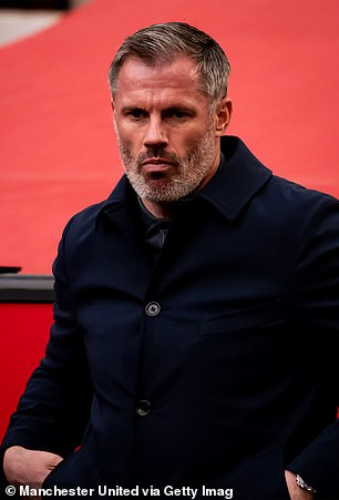 Former England defender Jamie Carragher