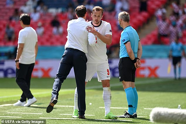 Kane was substituted by Gareth Southgate on a frustrating afternoon for him against Croatia