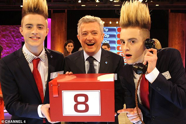Oh dear:In the wake of the interview, his former X Factor act John and Edwards Grimes, known as 'Jedward', who he managed until 2013, launched a scathing Twitter attack on him, branding him 'toxic' and urging aspiring popstars not to work with him