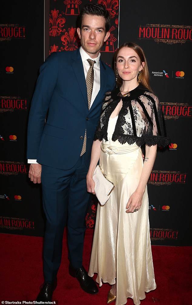 Rebound?The alleged romance became public just a few days after news broke that Mulaney had left his wife of six years, Anna Marie Tendler (Pictured together in 2019)