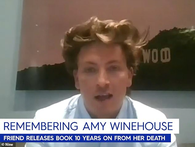 Close: On Monday, Tyler told Nine's Today show'I lived with Amy most of her adult life and I'm the only person who knows what it was really like to be her'