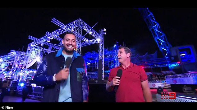 Pals: Ninja Warrior's Nick Krygios and Shane Crawford opened up about their unlikely bromance revealing the couple are best friends after filming the series in a report on New Idea magazine