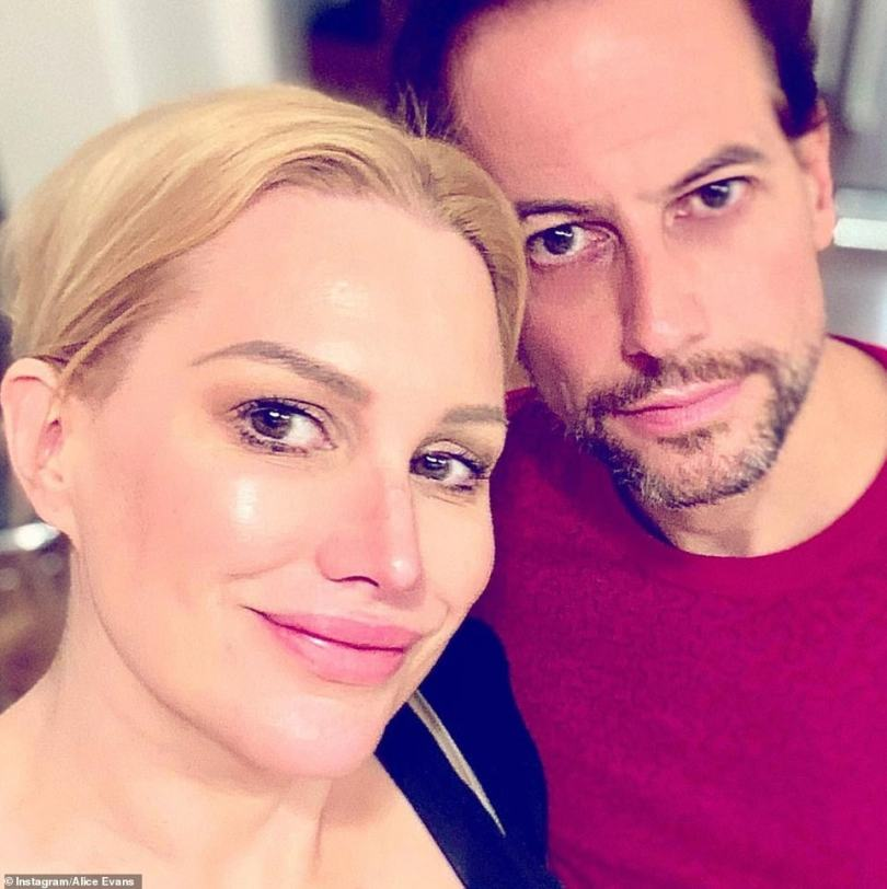 Making things official: Ioan's divorce papers cite irreconcilable differences as the reason behind his split from his wife Alice (pictured in happier times)