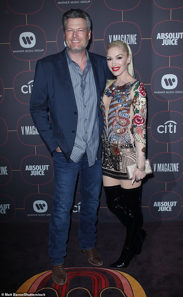 Are they: 51-year-old No Doubt singer and 44-year-old country singer in Hollywood in January 2020