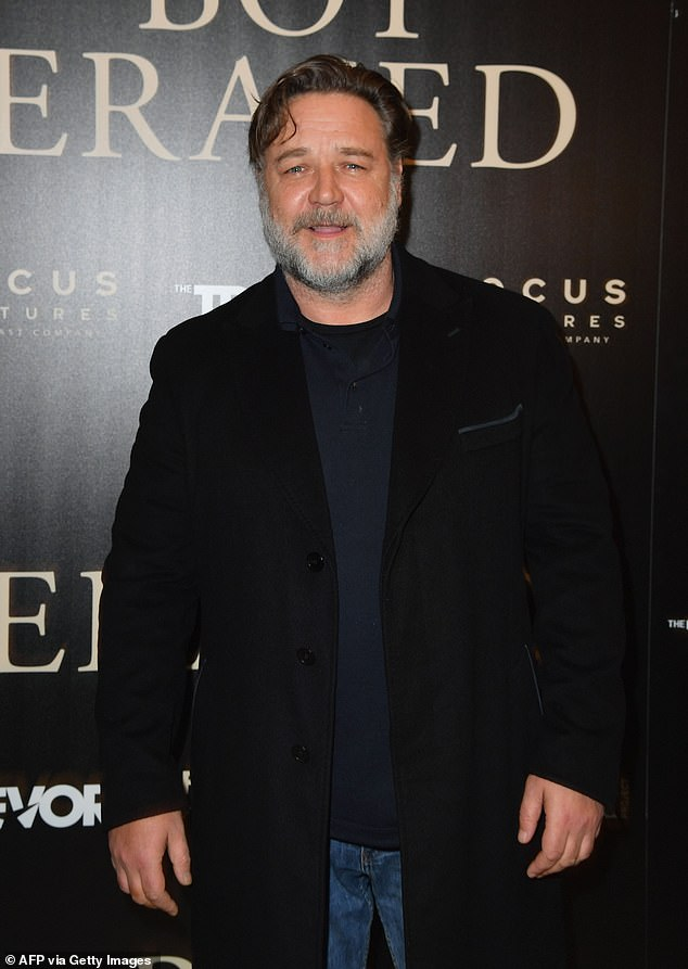 New studio: Russell Crowe unveiled his ambitious plan to bring Hollywood Down Under