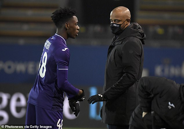 Anderlecht boss Vincent Kompany has alsospoken highly of the youngster in the past