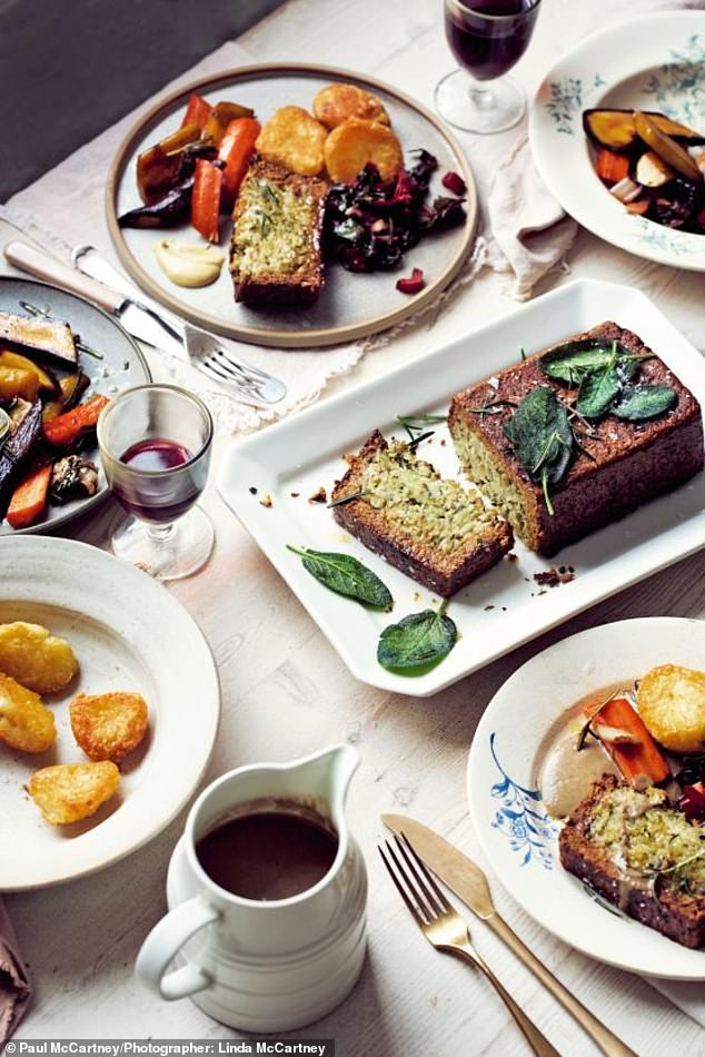 This Sunday roast with savoury stuffing & special gravy can be enjoyed with vegetables
