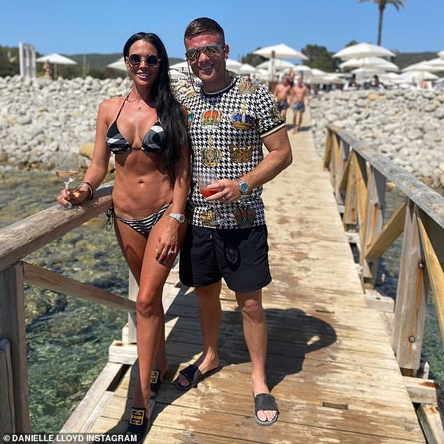 Superb: The former WAG, who has already had 15 cosmetic procedures, also opened up about her body dysmorphia revealing in her 20s that she was crying over her figure