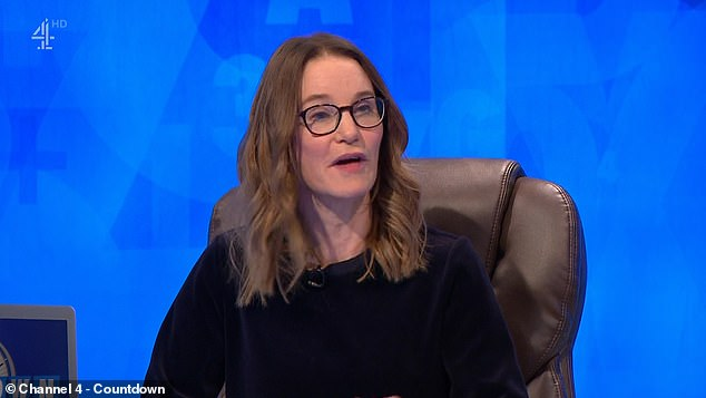 Acceptable:Susie Dent explained the word was acceptable, saying: 'Yes, c*****d, also to c**p out of a game of c***s, gambling game, is to make a losing throw, absolutely fine'