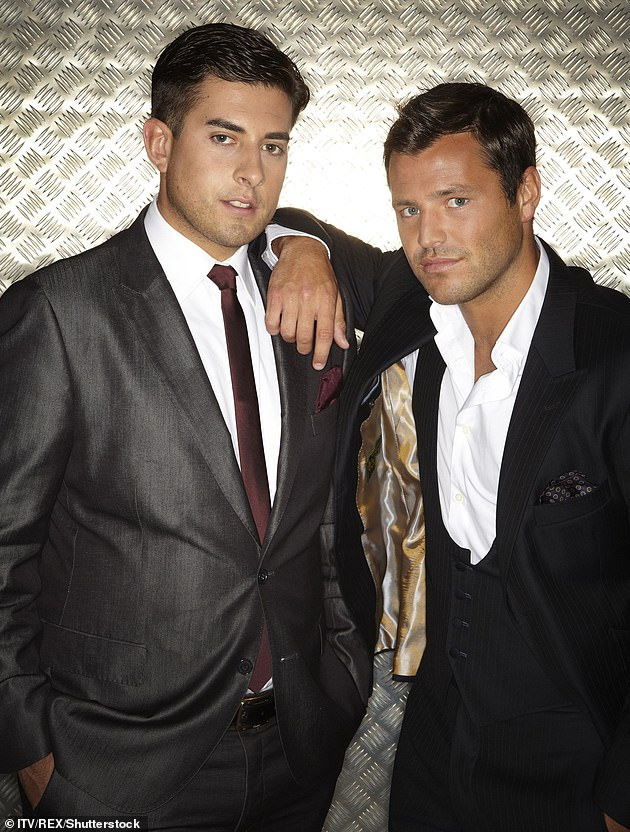 Good friend: James has enlisted the help of close friend and fitness fanatic Mark Wright, 34, who has told James 'he can join him over the gym anytime he likes' (pictured in 2011)