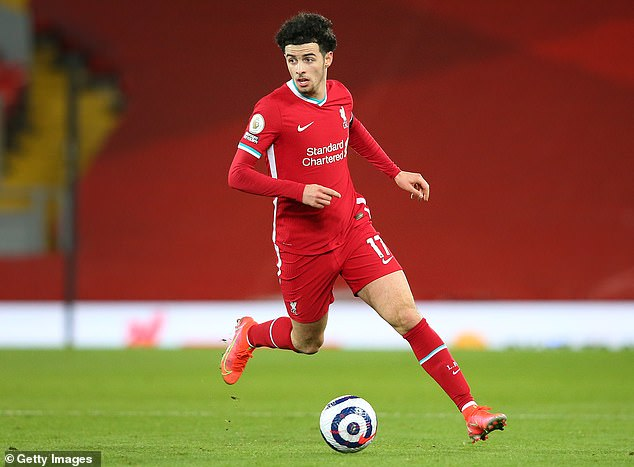Curtis Jones saw his development aided last term with increased game time at Liverpool