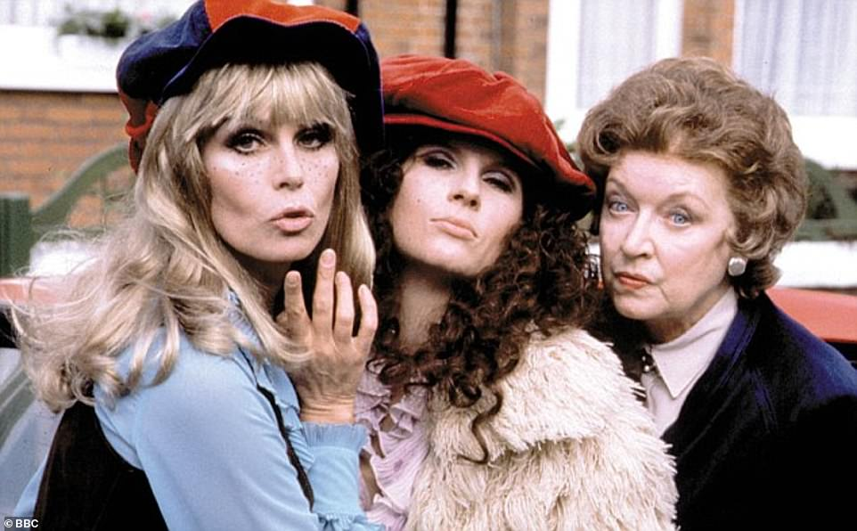 Loss:June died in December 2018, two years after Jennifer insisted she was 'done' with Ab Fab [pictured in one of the early episodes]