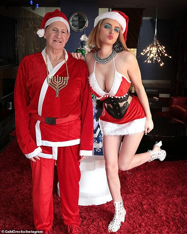 Edelsten became a parody of his 80s self in the 2000s. He married Gabi Gecko (pictured) briefly before an ugly split