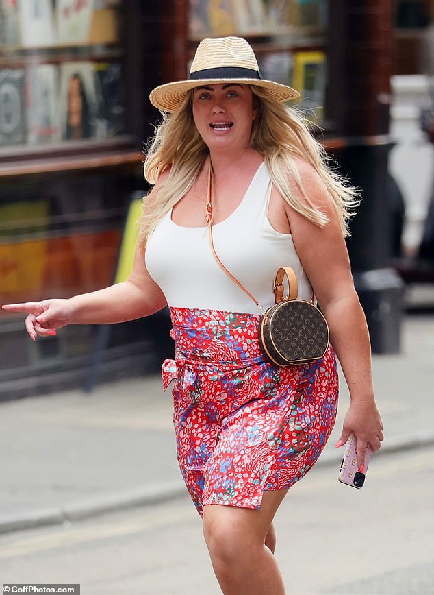 Changes: The former TOWIE star, 40, has overhauled her lifestyle in recent months, ditching takeaways in favour of healthy meals as well as working out several times a week