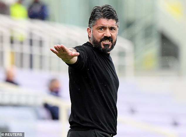 Talks with Gennaro Gattuso ended abruptly amid a backlash from the club's supporters