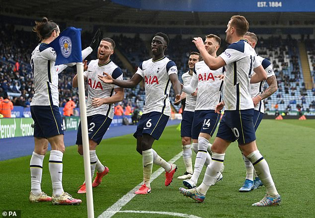 A final-day win at Leicester ensured that Spurs qualified for the Europa Conference League
