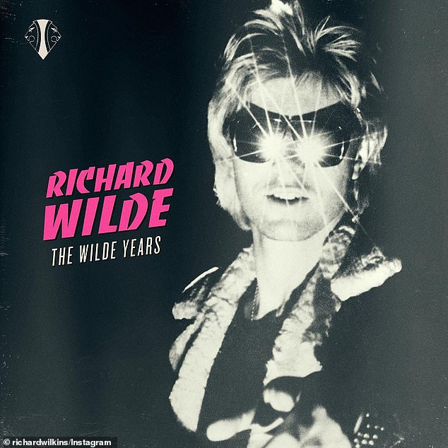 Special release: The video package coincides with the re-release of his records with Wilde and Reckless after 40 years in a 19-track album called the The Wilde Years. He recently recalled life on the road with his band and his young family during his music career in the 1970s