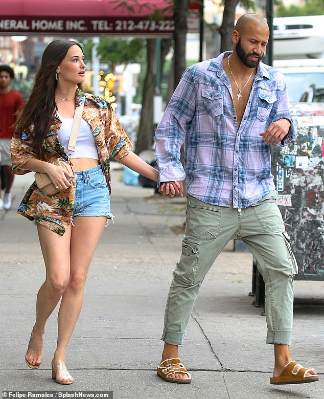 New boo? Kacey Musgraves held hands with writer Cole Schafer in NYC on Friday