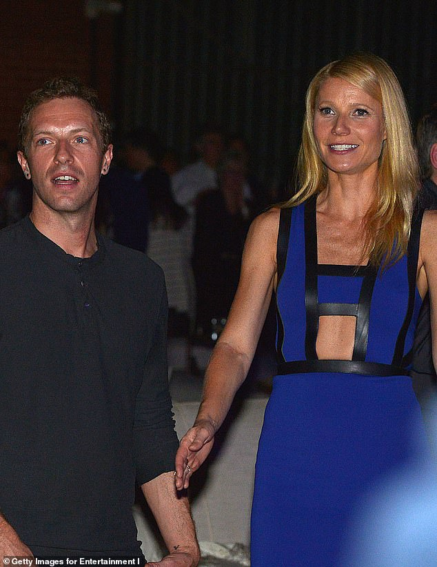 The Goop founder also shared how she just spent some quality time with Martin earlier this week; the former couple are pictured in January 2014, two months before they made their now famous 'conscious uncoupling' announcement back in March 2014