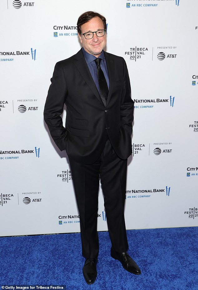 Danny Tanner in the house: Full House actor Bob Saget was also present