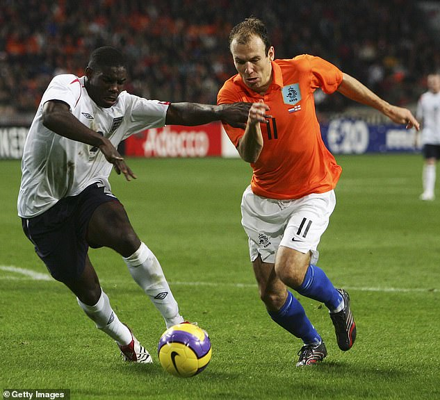 Richards made his England debut against Holland and produced an impressive performance