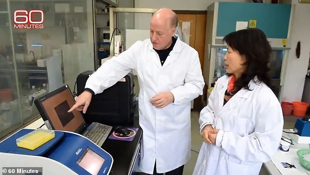 Daszak is seen at the Wuhan Institute of Virology in 2020. His close ties to the lab, his fierce rejection of the idea that COVID-19 could have escaped from its walls, and his absolute rejection of the 'lab leak' theory have raised eyebrows