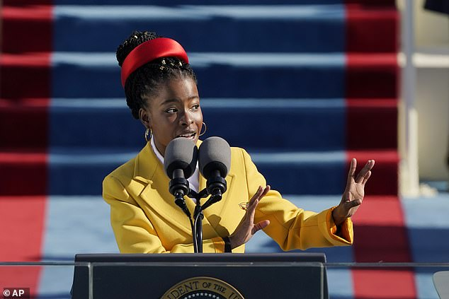 Amanda Gorman, the 23-year-old National Youth Poet Laureate, won widespread acclaim for her poem, written for and delivered at Joe Biden's inauguration. Novalee referred to it as a 'so-called inauguration'