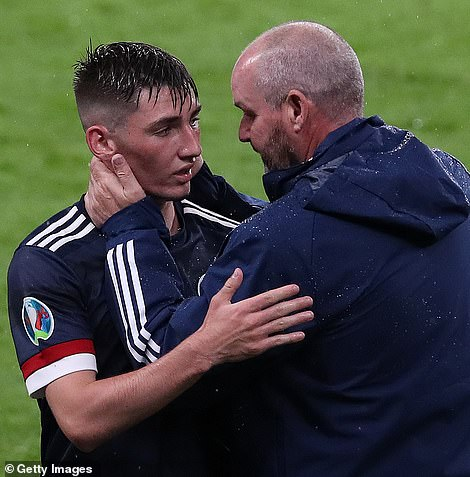 Will Scotland boss Steve Clarke now have to self-isolate? The manager was seen speaking to Gilmour face-to-face following the match at Wembley on Friday night