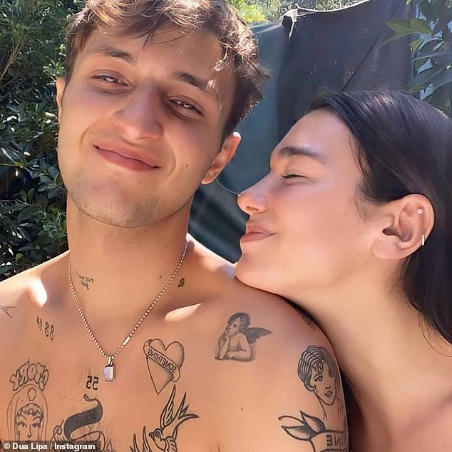 Birthday love:Dua Lipa proved she's more in love with Anwar Hadid than ever as she shared a gushing tribute to him to mark his 22nd birthday on Tuesday